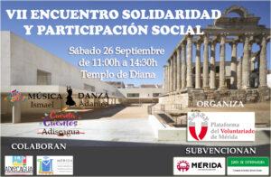 VII ENCUENTRO PARA LA SOLIDARIDAD Y LA PARTICIPACIÓN SOCIAL @ Templo de Diana